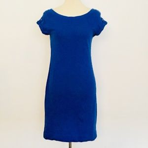 Banana Republic Royal Blue Cotton T-Shirt Dress